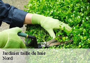 Jardinier taille de haie Nord